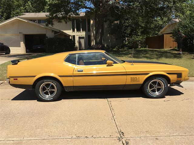 1971 Ford Mustang Mach 1 | 896136