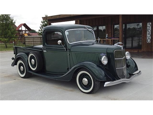 1936 Ford 1/2-Ton Pickup Custom | 896254
