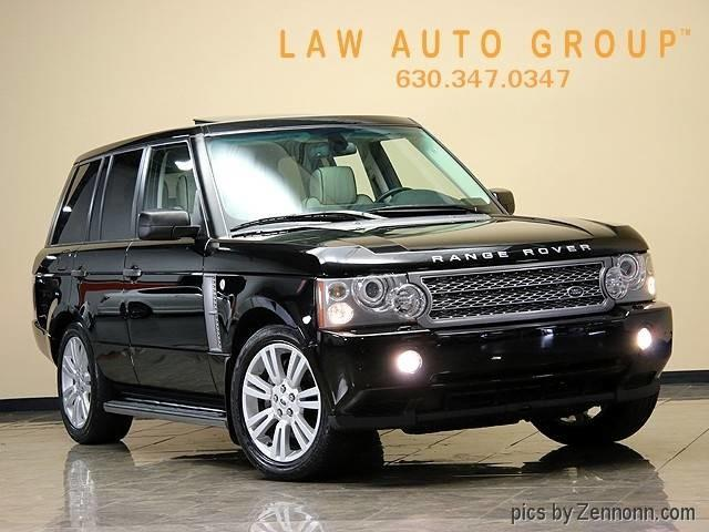 2009 Land Rover RANGE ROVER SUPERCHARGED HSE   896536