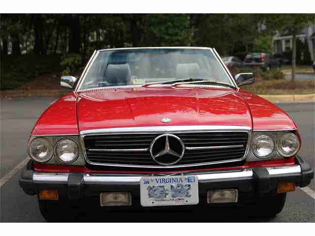 1985 Mercedes-Benz SL380 | 896644