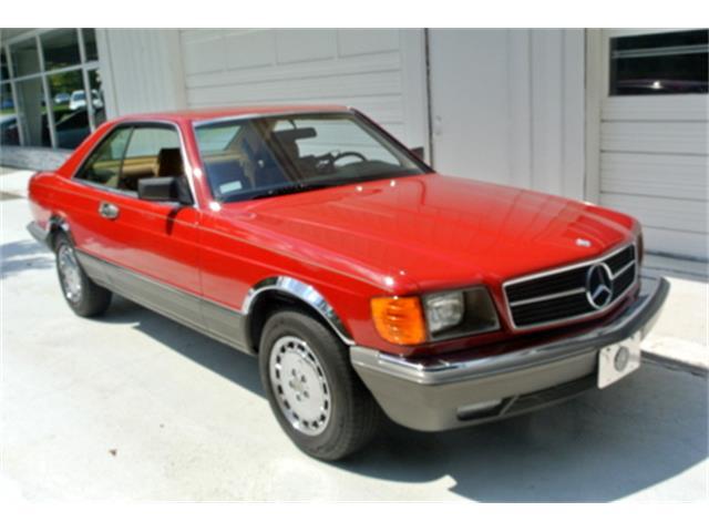1985 Mercedes-Benz 500SEC | 896851