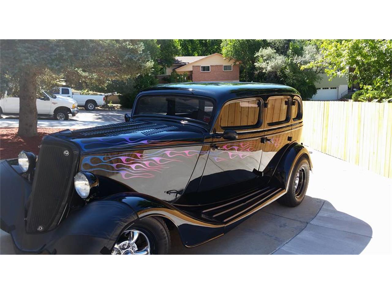 1933 ford 4 dr sedan for sale cc 896909. Black Bedroom Furniture Sets. Home Design Ideas