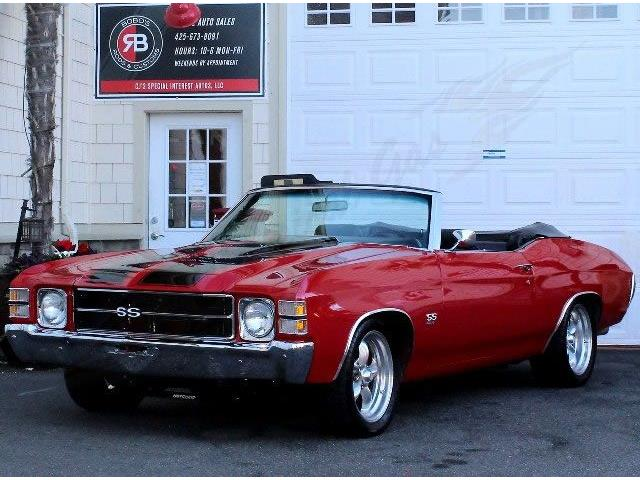 1971 CHEVROLET CHEVELLE SS CONVERTIBLE | 896974