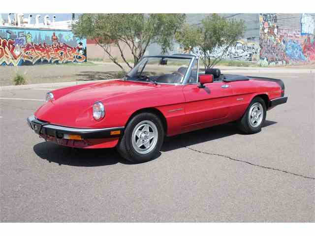 1986 Alfa Romeo Spider Veloce | 897039