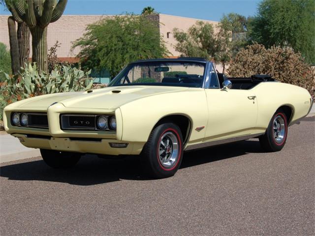 "1968 Pontiac GTO ""HO"" Convertible | 897092"