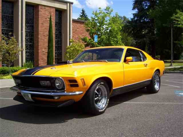 1970 Ford Mustang   897337