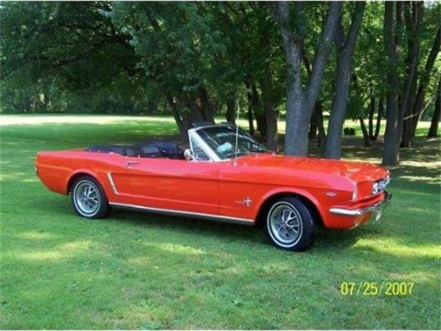 1965 ford mustang for sale cc 891356. Black Bedroom Furniture Sets. Home Design Ideas
