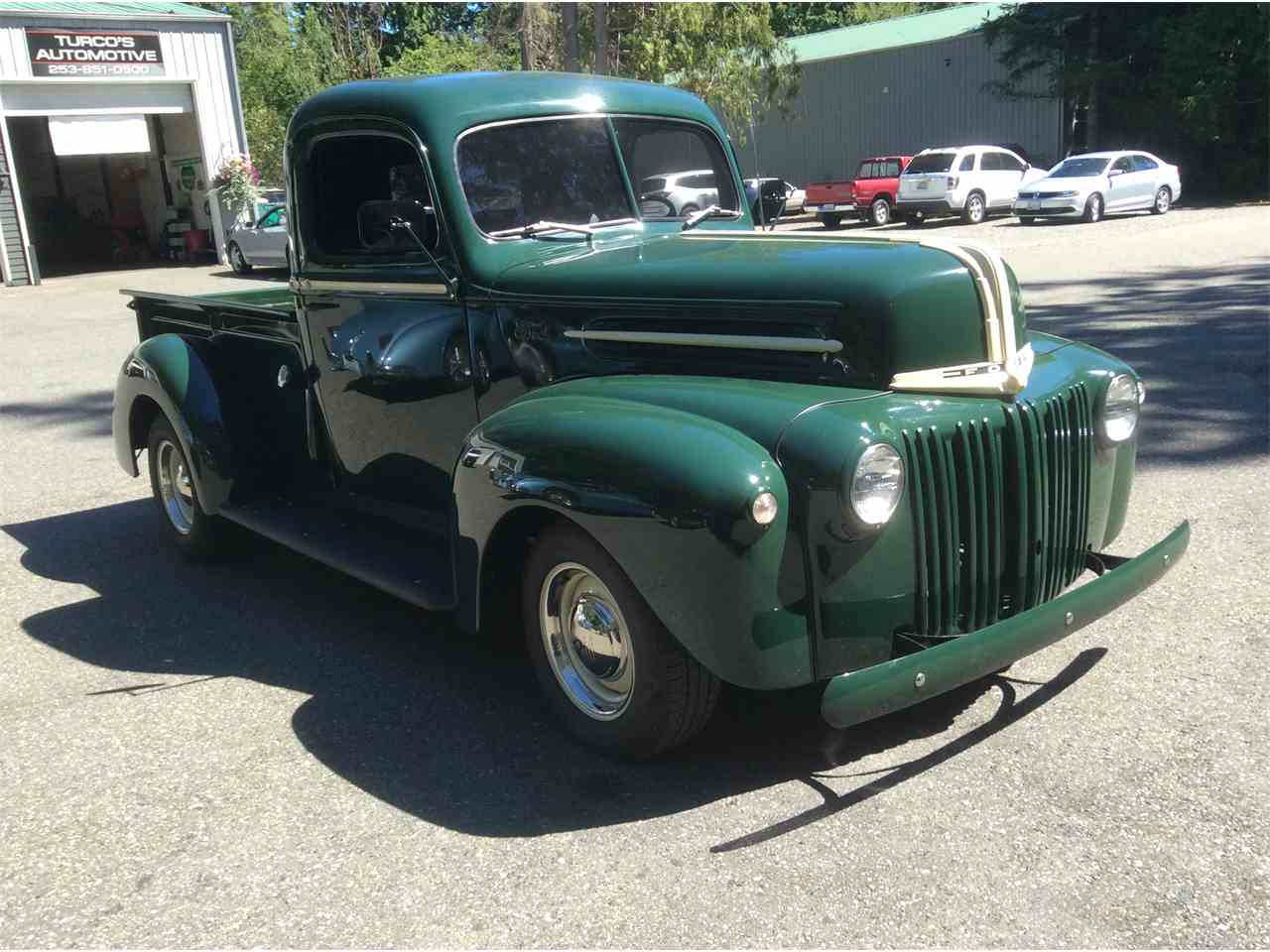 1946 ford 1 2 ton pickup for sale cc 897383. Black Bedroom Furniture Sets. Home Design Ideas