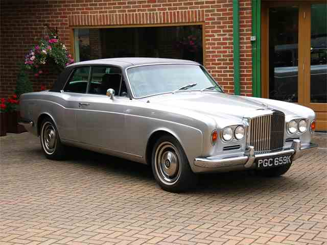 1972 Bentley T1 Corniche 2 Door Saloon Earls Court Motor Show car | 890753