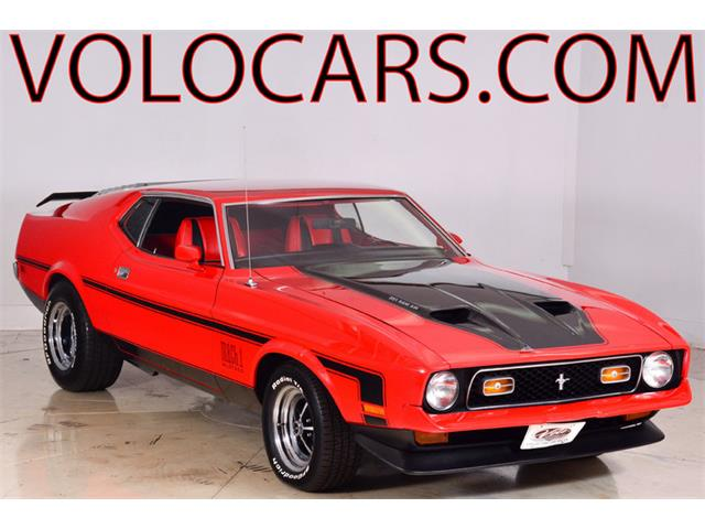 1972 Ford Mustang Mach 1 | 897567