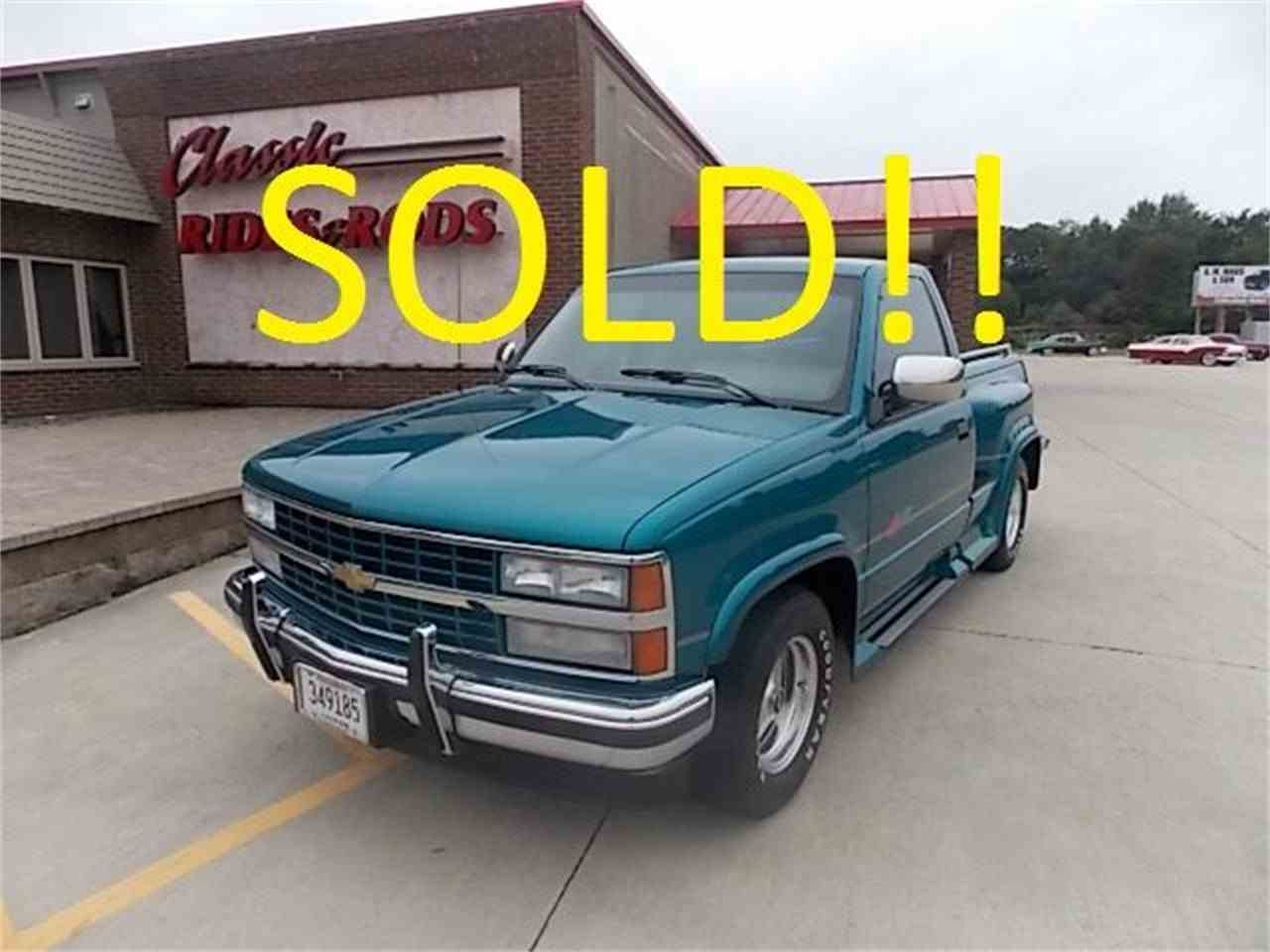 1992 Chevrolet SPORT TRUCK RST for Sale | ClassicCars.com ...