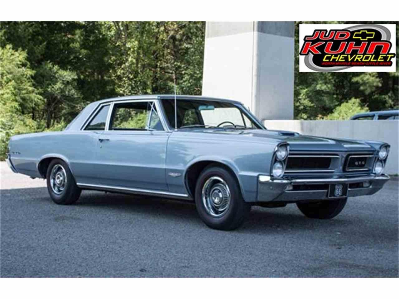 1965 Pontiac GTO for Sale  ClassicCarscom  CC898137