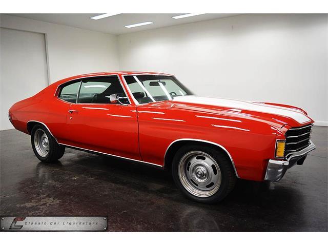 1972 Chevrolet Chevelle | 898211