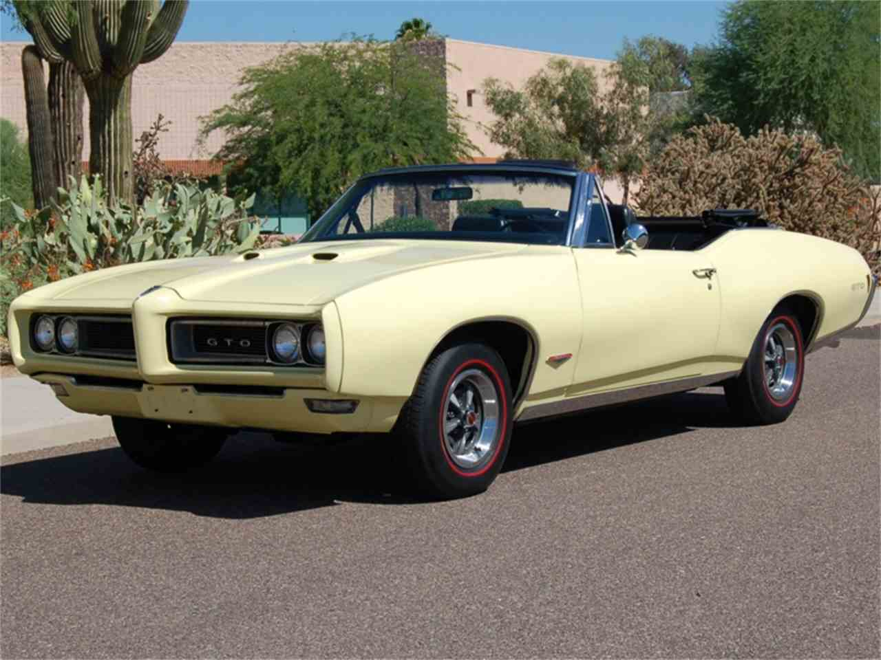 1968 pontiac gto for sale cc 898278. Black Bedroom Furniture Sets. Home Design Ideas
