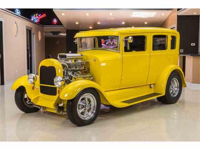 1929 Ford Model A Fordor Sedan Street Rod | 890085