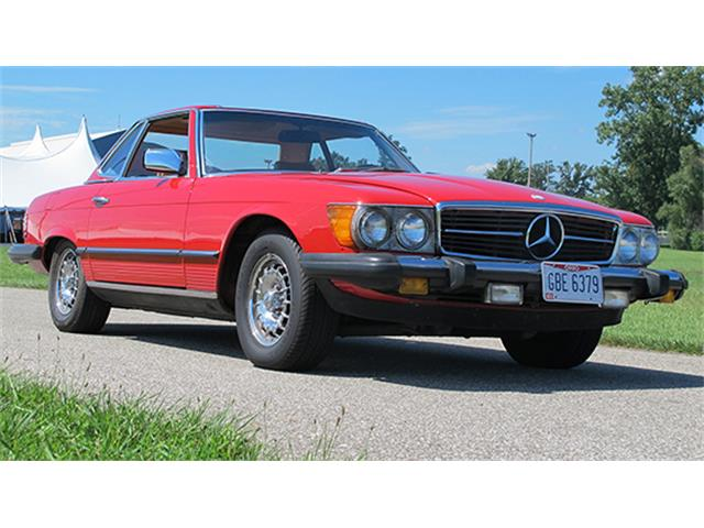 1984 Mercedes-Benz 380SL Convertible   898992
