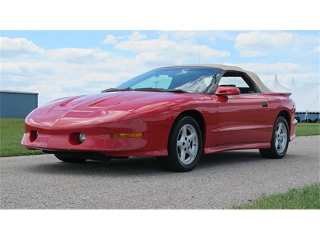 1995 Pontiac Firebird Trans Am Convertible | 899196