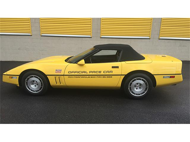 1986 Chevrolet Corvette Convertible Indy 500 Pace Car | 899340
