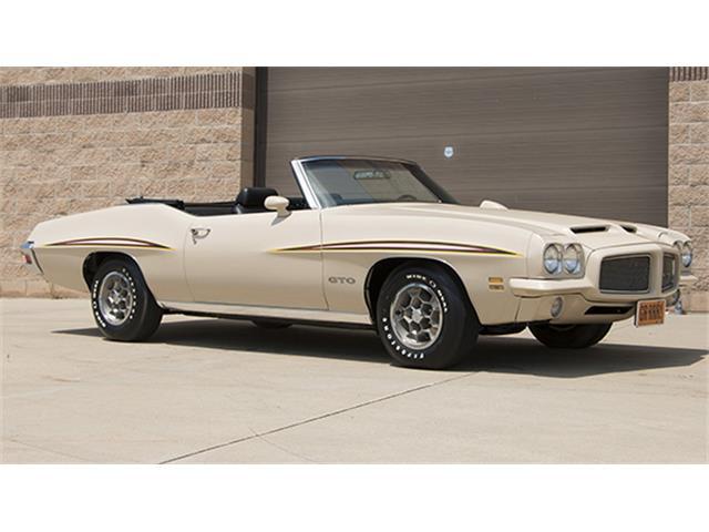 1971 Pontiac GTO   899480