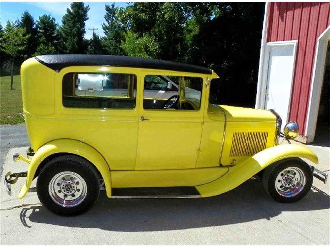 1931 ford model a tudor sedan for sale cc 890993. Black Bedroom Furniture Sets. Home Design Ideas