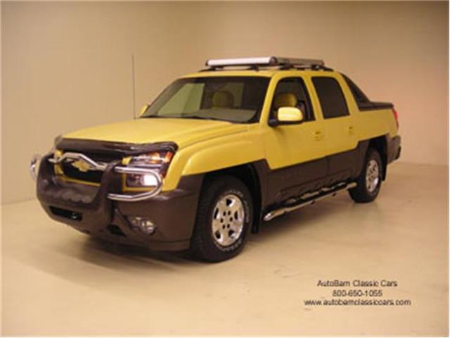 2002 Chevrolet Avalanche   90774