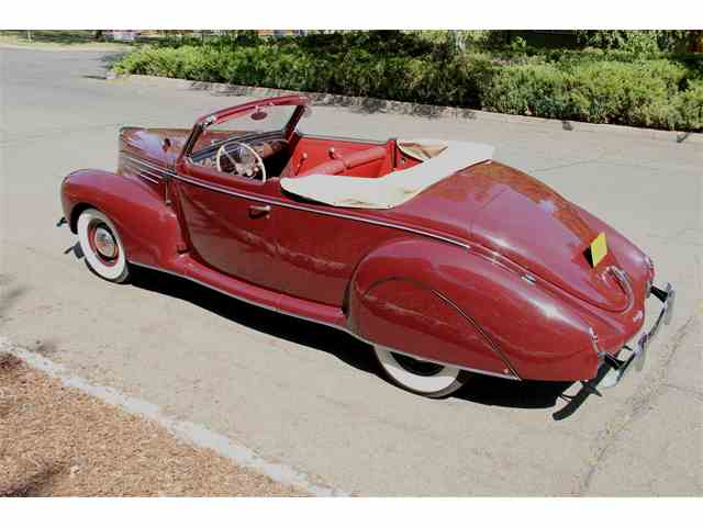 1939 Lincoln Zephyr Convertible. GORGEOUS & RARE! | 901002