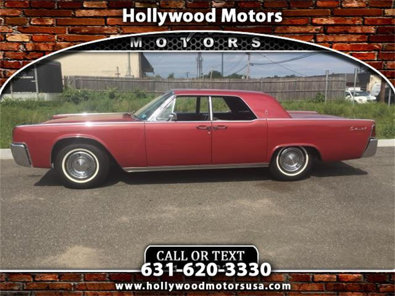 1963 lincoln continental for sale cc for Hollywood motors west babylon
