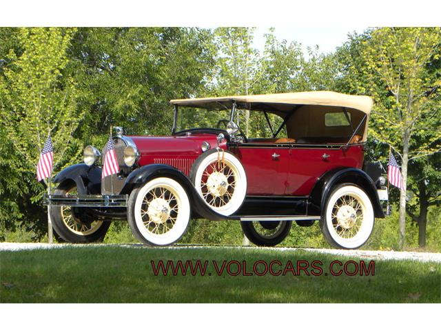 1929 Ford Model A 4 Door Phaeton | 901122