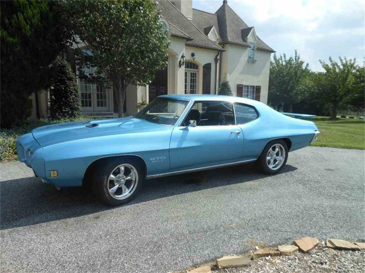 1970 pontiac gto for sale cc 901399. Black Bedroom Furniture Sets. Home Design Ideas