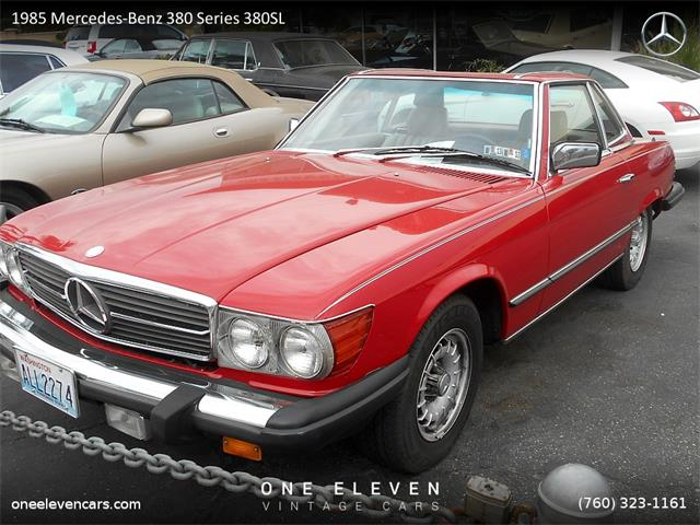 1985 Mercedes-Benz 380 Series 380SL | 901676