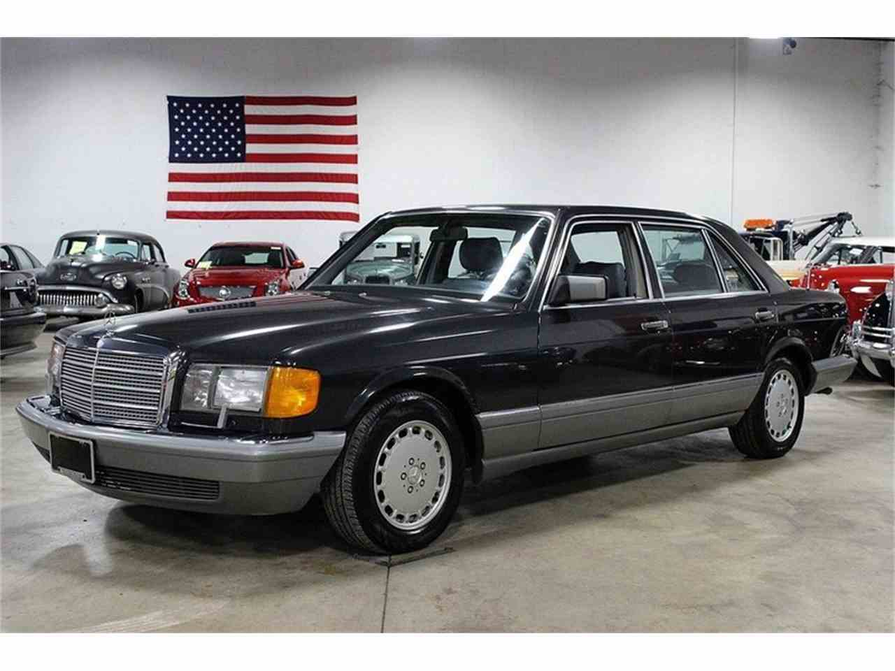 1987 mercedes benz 420sel for sale cc. Black Bedroom Furniture Sets. Home Design Ideas
