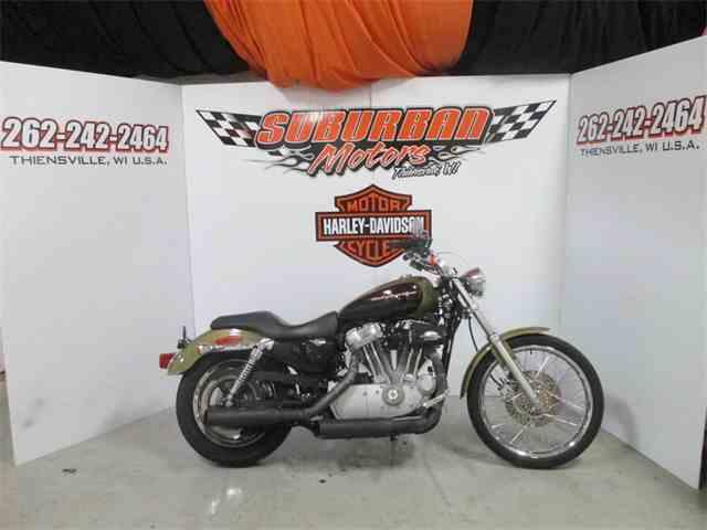 2007 Harley-Davidson® XL883C - Sportster® 833® Custom | 902052