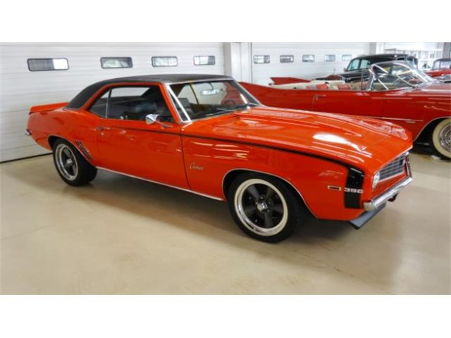 1969 chevrolet camaro ss for sale on 51 available. Black Bedroom Furniture Sets. Home Design Ideas