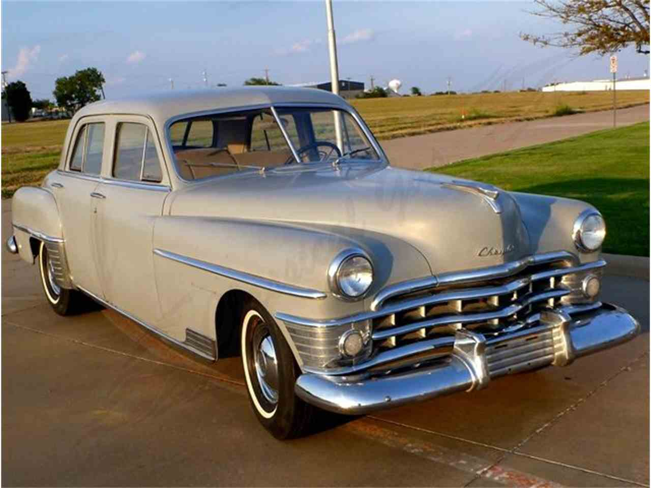 1950 chrysler new yorker for sale cc 900246. Black Bedroom Furniture Sets. Home Design Ideas
