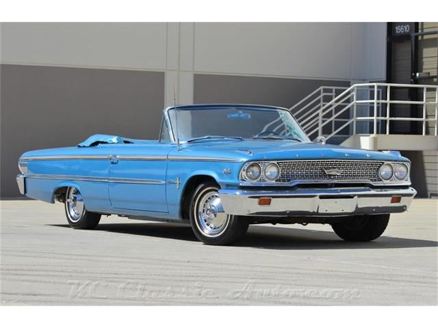 1963 Ford Galaxie 500 390 Police Interceptor Convertible with AC | 902678