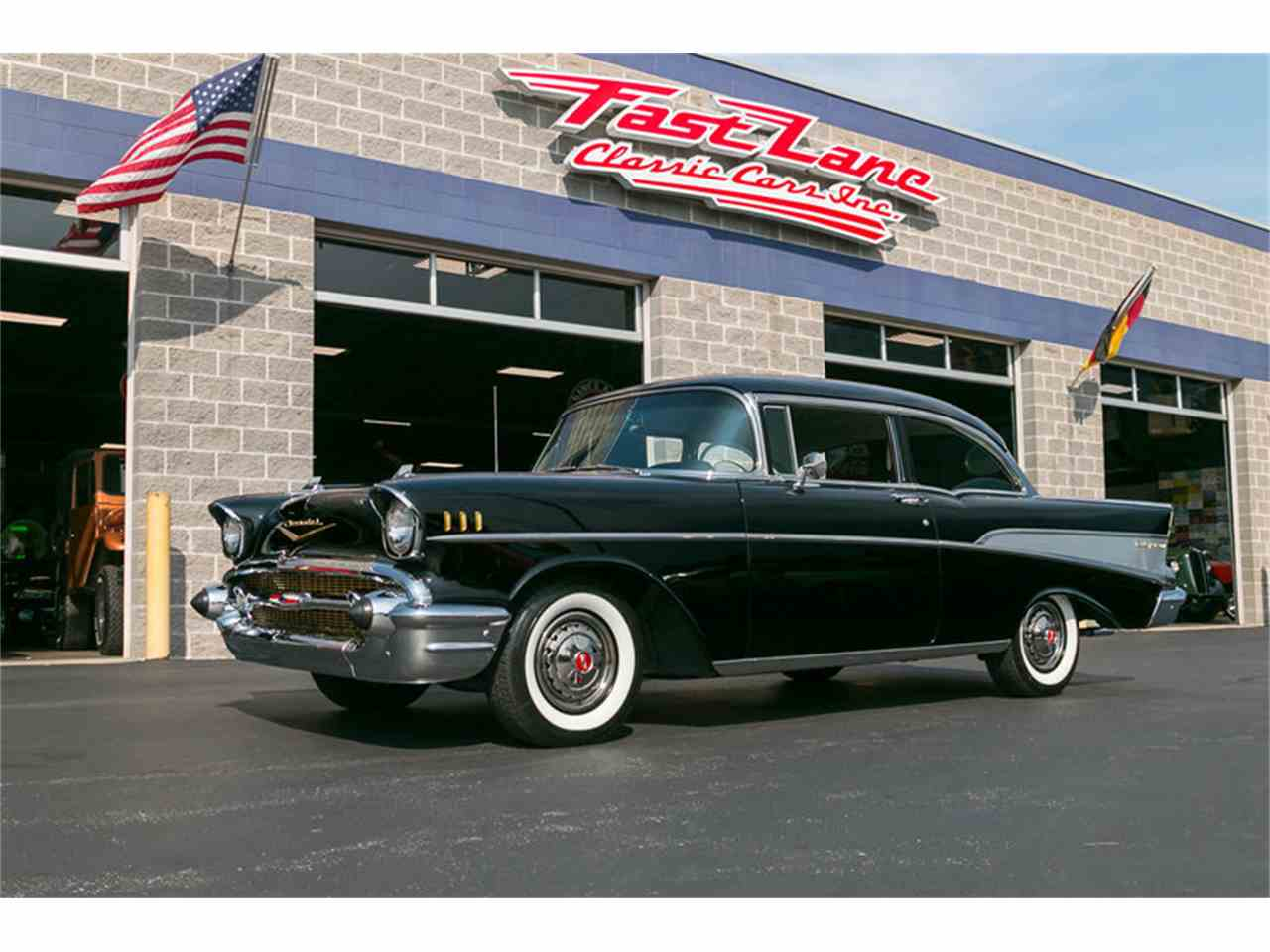 Large Picture of Classic '57 Chevrolet Bel Air located in St. Charles Missouri Offered by Fast Lane Classic Cars Inc. - JCKB