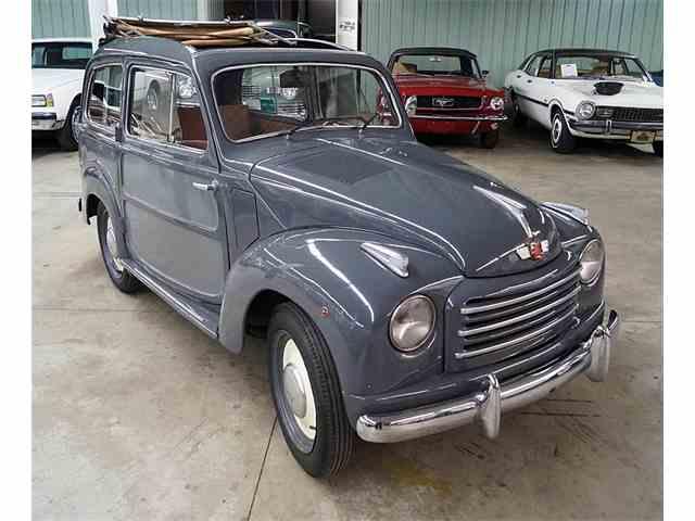 1952 Fiat 500c Topolino Belvedere | 902782
