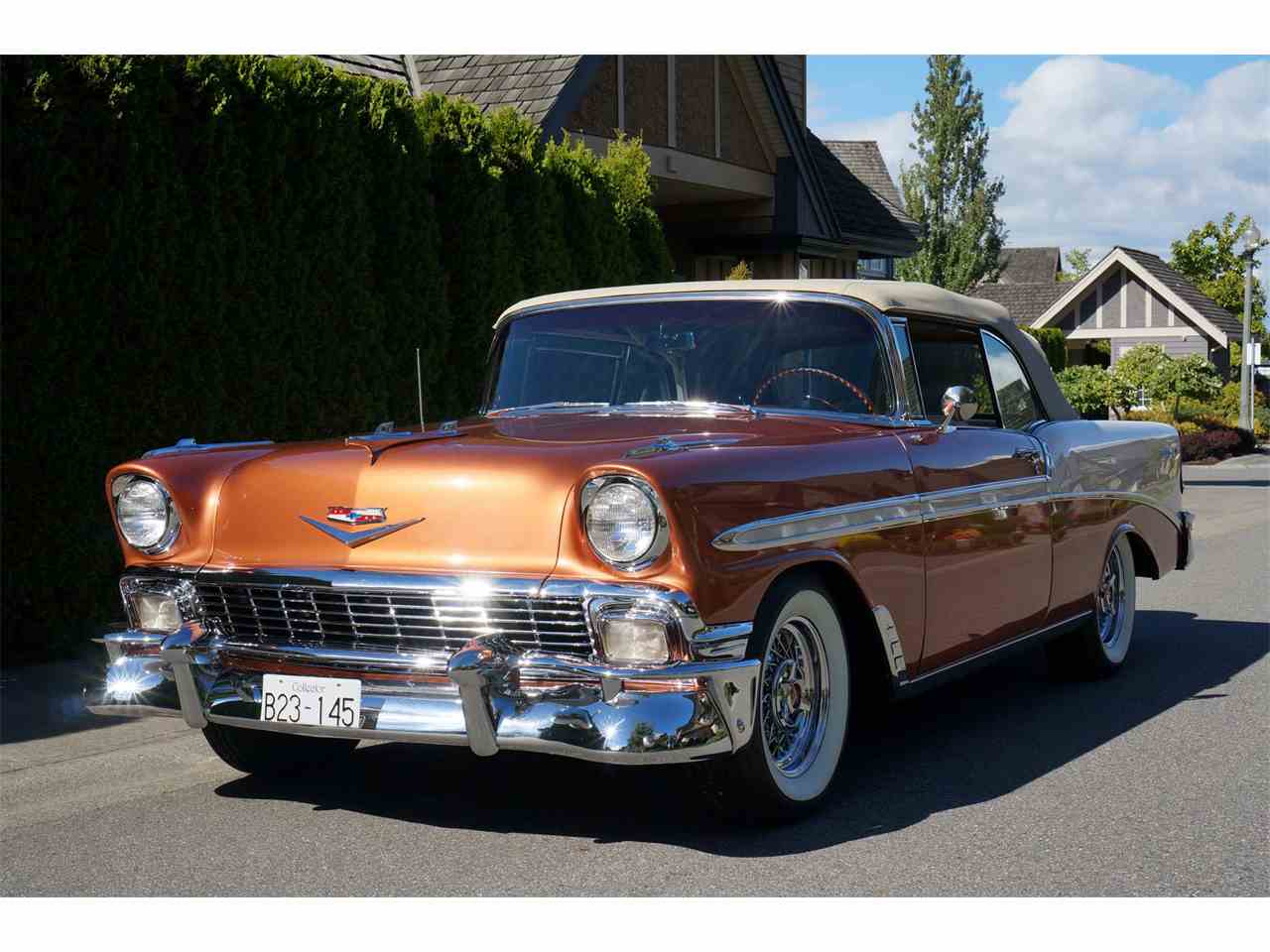 1956 chevrolet bel air for sale cc 902963. Black Bedroom Furniture Sets. Home Design Ideas