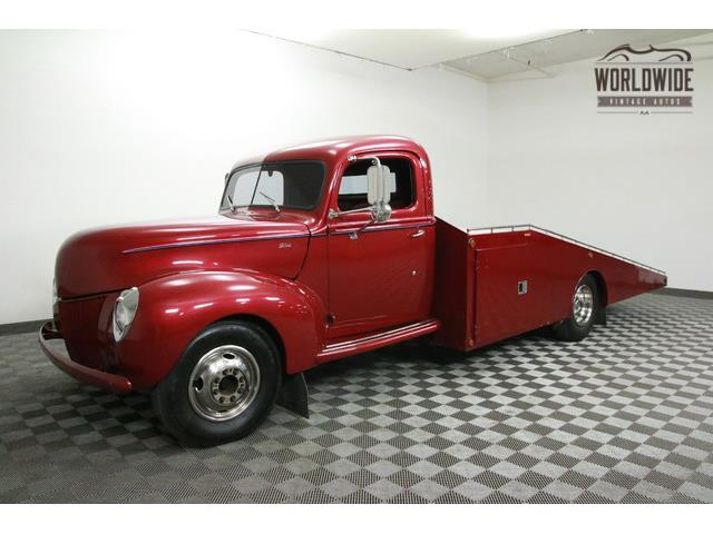 1940 FORD CAR HAULER | 903259