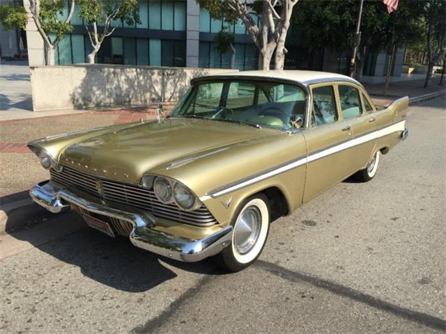 1957 Plymouth Belvedere   900328