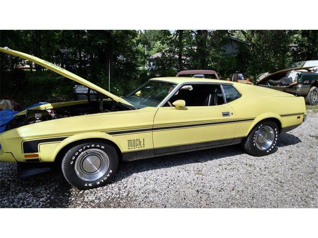 1971 Ford Mustang Mach 1 | 903683