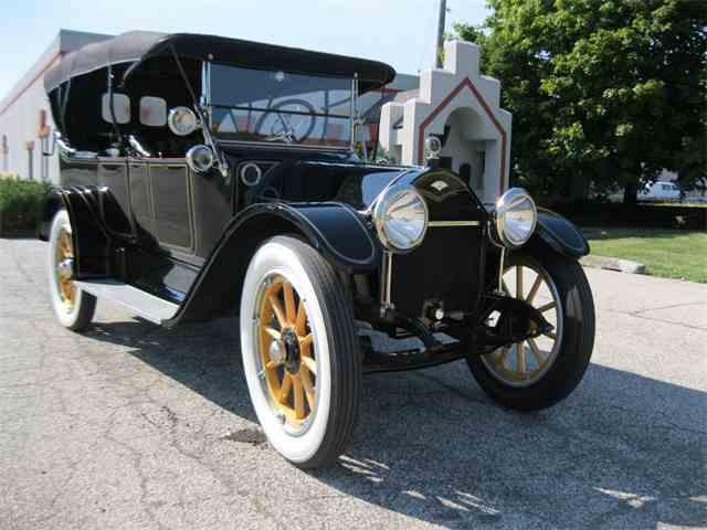 1914 Abbott-Detroit Belle Isle Model F 7-Passenger Touring Car | 903688