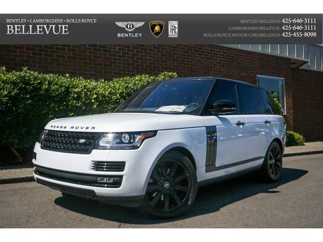 2016 Land Rover Range Rover | 903960