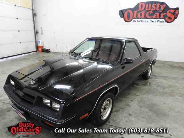1984 Dodge Rampage | 904066
