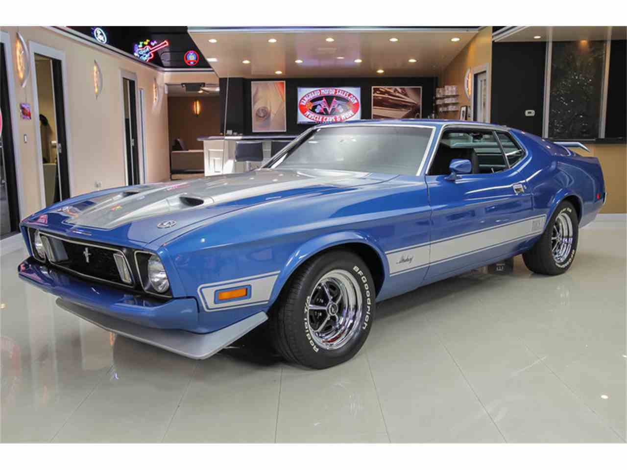1973 ford mustang mach 1 q code for sale. Black Bedroom Furniture Sets. Home Design Ideas