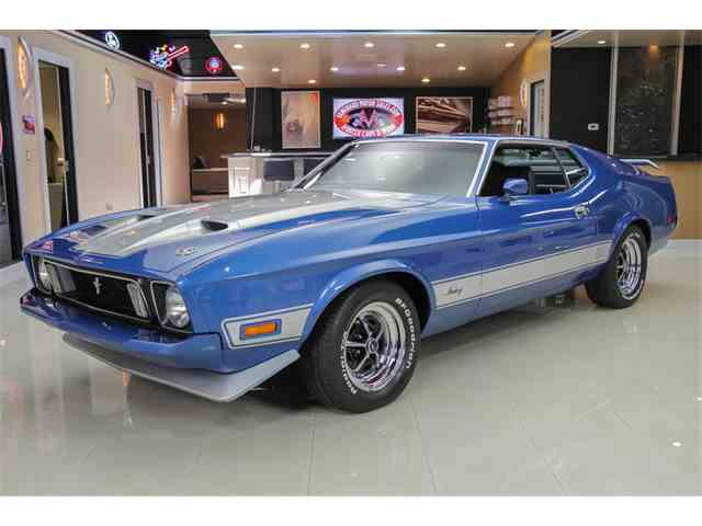 1973 Ford Mustang Mach 1 Q Code | 904501