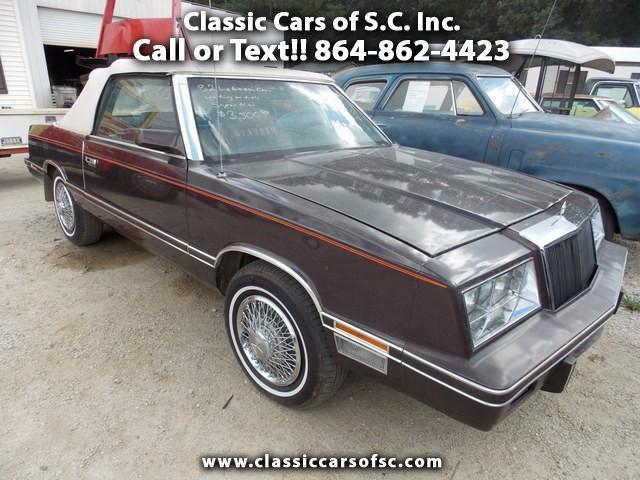 1982 Chrysler LeBaron | 904591