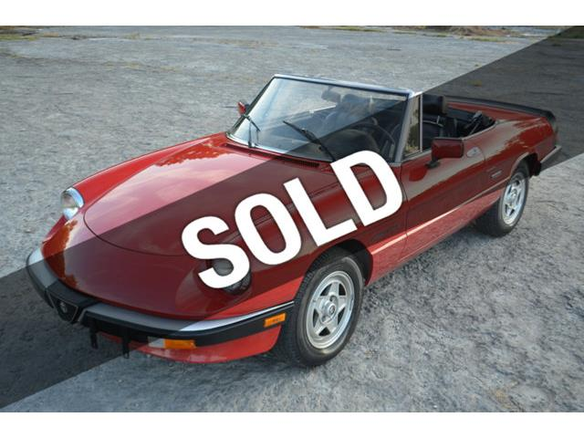 1986 Alfa Romeo 2000 Spider Veloce | 904775