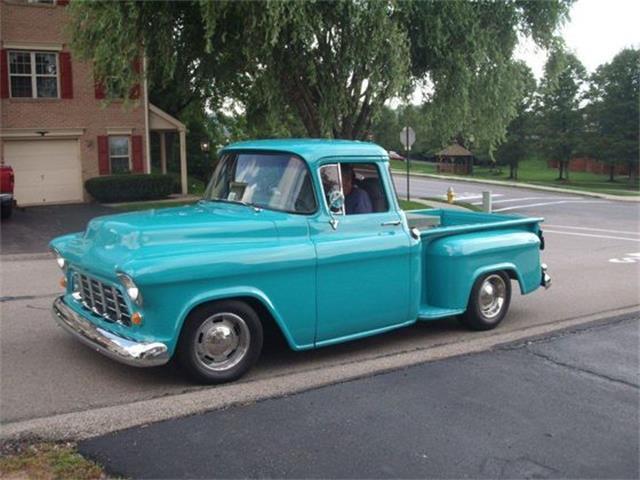 1955 Chevrolet Deluxe shortbed stepside | 904853