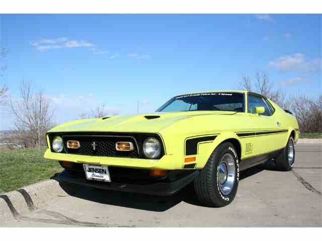 1972 ford mustang mach 1 for sale on 3. Black Bedroom Furniture Sets. Home Design Ideas